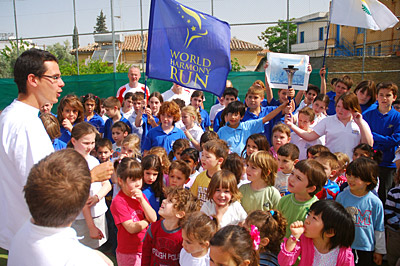 Cyprus Kids in World Harmony Run