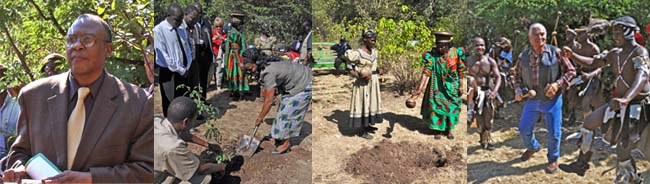 Peace Park Dedication, Victoria Falls