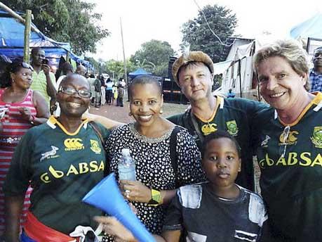 IIPT South Africa team in Jamaica