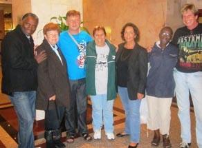IIPT SA team in Jamaica