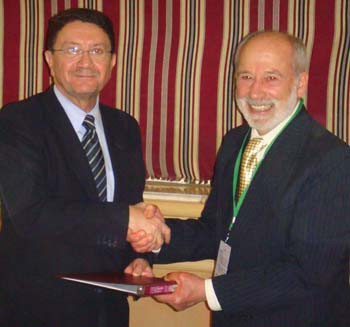 Louis D'Amore and Taleb Rifai_IIPT