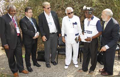 IIPT Peace Park Dedication 2013, Victoria Falls, Zambia
