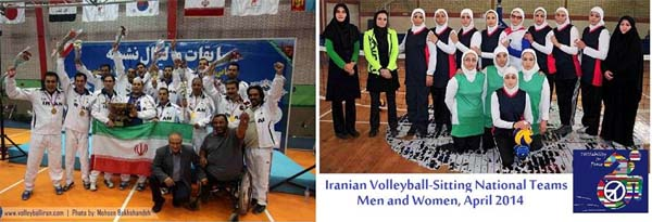 Thisability Volleyball team