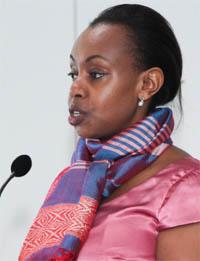 Ambassador Yamina Karitanyi at IIPT WTM 2014 event