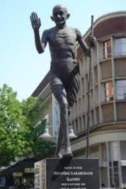 Mahatma Gandhi South Africa Statue