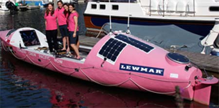 Coxless Boat