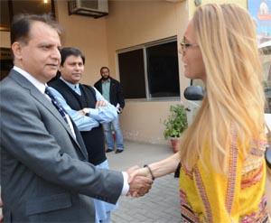 Cassie in Pakistan