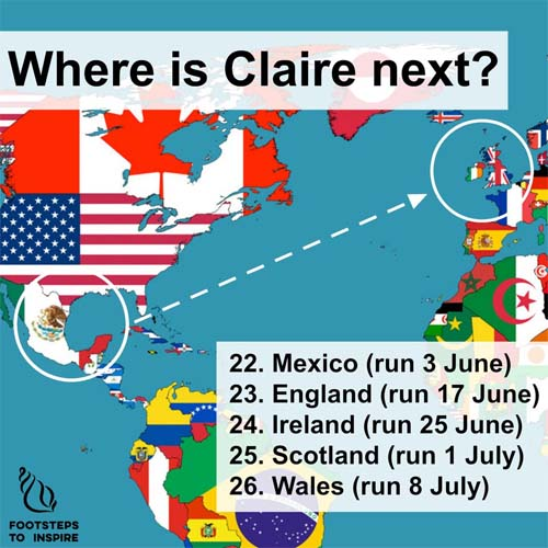 Where is Claire?