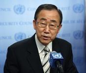UN Secretary General  - Ban Ki Moon
